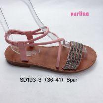 Sandały damskie (36-41/8 par)