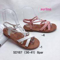 Sandały damskie (36-41/16 par)