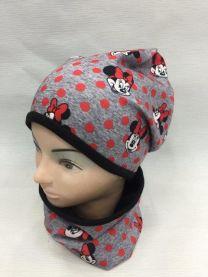 Komplet czapka dziewciece (uniwersalny/10KPW)