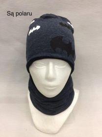 Komplet czapka chlopiece (uniwersalny/10KPW)