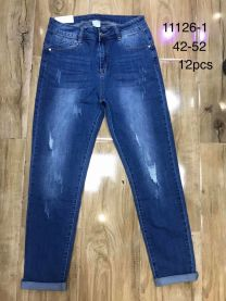 Spodnie jeansowe damskie(42-52/12P)
