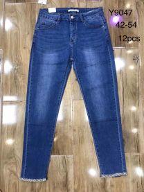 Spodnie jeansowe damskie(42-54/12P)