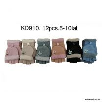 Rękawiczki Dzieci (5-10lat/12par)