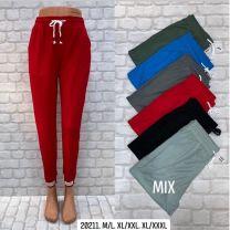 Spodnie dresowe damskie (M-3XL/12szt)