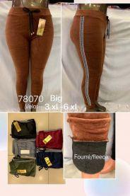 Spodnie welurowe (3XL-6XL/12szt)