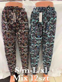 spodnie alladynki (S/M-L/XL/12szt)