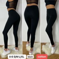 Bawełna_spodnie legginsy damskie (S-XL/12szt)