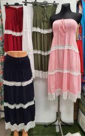 Spódnica lub sukienka z chiński (M-2XL/12szt)