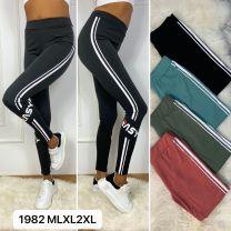 Spodnie Legginsy damskie (M-2XL/12szt)