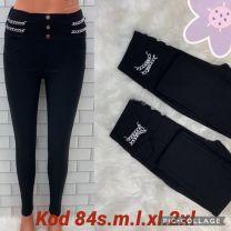 Spodnie Legginsy damskie (S-2XL/12szt)