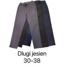 Spodnie Eleganckie Damskie (30-38/12szt)