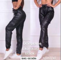 Spodnie ekoskóra damskie (S-XL/12szt)
