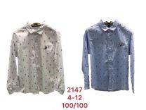 Koszula chłopięca (4-12 LAT/10szt)