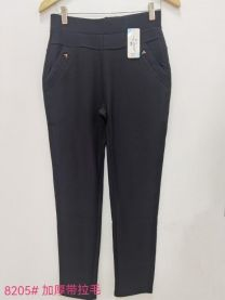 Spodnie damskie ocieplane (uniwersalny/12szt)