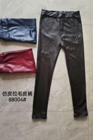 Spodnie ekoskóra damskie (uniwersalny/12szt)