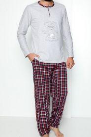 Bawełniana Piżama Męska (M-2XL/4kompletów)