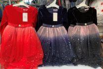 Sukienki dziewczęce (4-14 LAT/6szt)