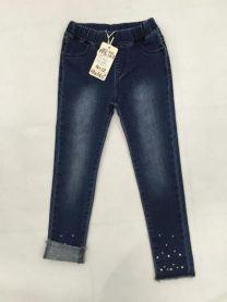 Spodnie jeansowe dziewczęce (4-12LAT/10szt)
