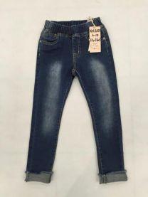 Spodnie jeansowe dziewczęce (4-12LAT/12szt)