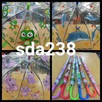 Parasol dla dzieci półautomatyczna Laska (Standard/12szt)