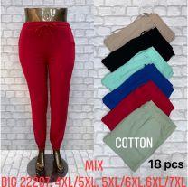 Spodnie Dresowe damskie (4XL-7XL/18szt)