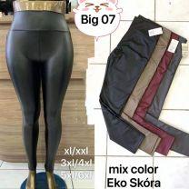 Spodnie ekoskóra (XL-6XL/12SZT)