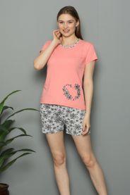 Piżama damska (M-2XL/4kompletów)