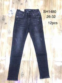 Spodnie jeansowe damskie(26-32/12szt)