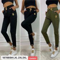 Spodnie Dresowe damskie (S-3XL/12szt)