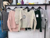Komplety swetry i spódnica (uniwersalny/6kompletów)