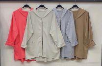 Bluzy bez kaptura damskie (uniwersalny/6szt)