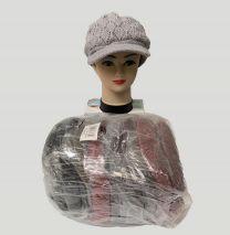 czapka damska  (uniwersalny/12szt)