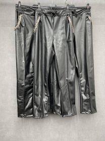 Spodnie ekoskóra damskie (uniwersalny/6szt)