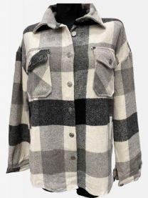 Koszula zimowa damska (XS-L/4szt)