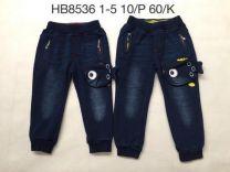 Spodnie jeansowe chłopięce (1-5/10szt)