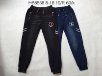 Spodnie jeansowe chłopięce (8-16/10szt)