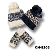 Komplety czapka + komin rękawiczki  (uniwersalny/12KPW)