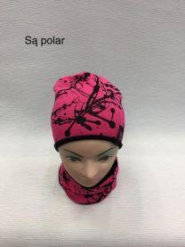 Komplet czapka i komin dzieci (uniwersalny/12szt)