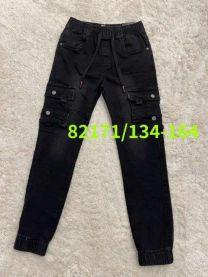 Spodnie jeansowe chłopięce (134-164/12szt)
