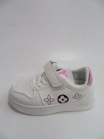 Buty sportowe na rzepy dziewczynka (25-30/12P)