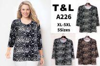Bluzka z chiński (XL-5XL/12szt)