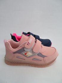 Buty sportowe na rzepy dziewczynka (31-36/16P)