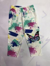 Spodnie leggingsy dziewczynka (9-12/12szt)