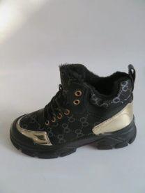 Ocieplane buty sportowe wiązane damskie  (36-41/12P)