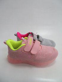 Buty sportowe na rzepy dziewczynka (26-31/24P)