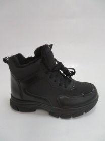 Ocieplane buty sportowe wiązane damskie  (36-41/8P)