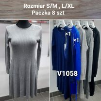Sukienka Damska z chiński (S/M-L/XL/8szt)