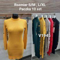Sukienka Damska z chiński (S/M-L/XL/10szt)