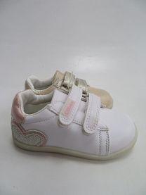 Buty sportowe na rzepy dziewczynka (21-26/24P)