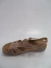 Sandały damskie na koturnie (36-41/12P)